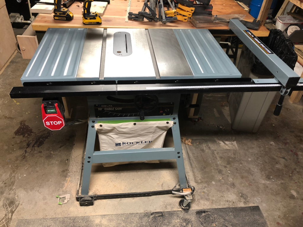 For Sale Selling My Delta 36 600 Tablesaw Woodworking Talk