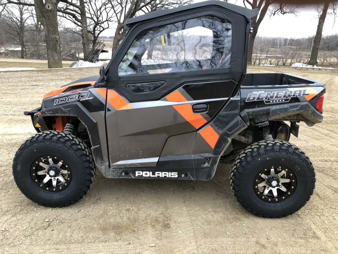 Questions On Decal Removal Polaris General 1000 Forum