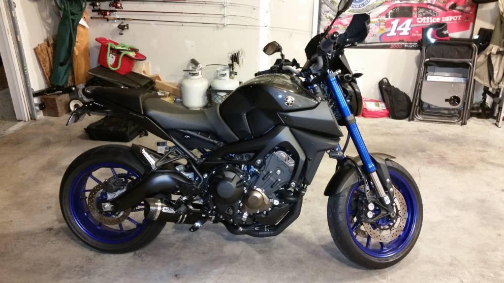 2014 Yamaha FZ-09 Walkaround - 2013 New York Motorcycle
