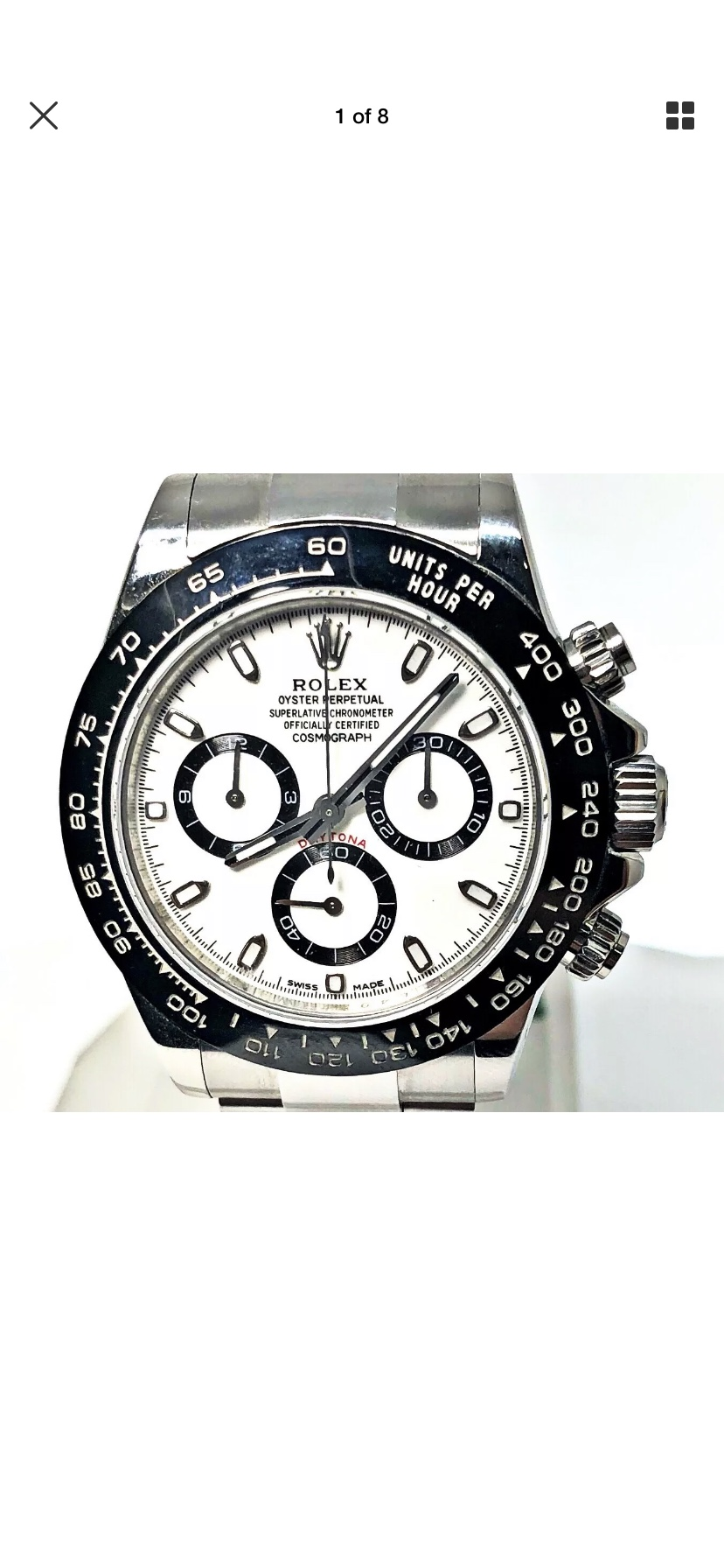 Questionable Daytona Or Just Bad Pictures Rolex Forums Rolex Watch Forum