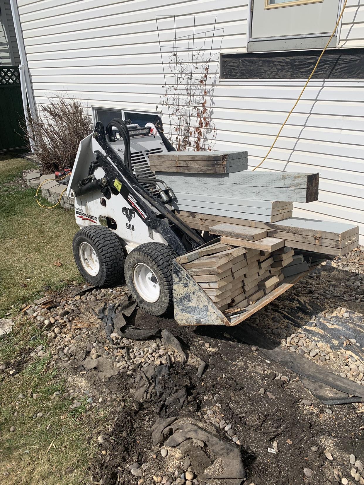 Bobcat MT85 Mini Skid - Excavation & Site Work - Contractor Talk