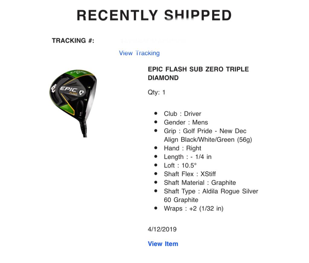 Callaway Epic Flash and Epic Flash Sub Zero Driver - Page 149