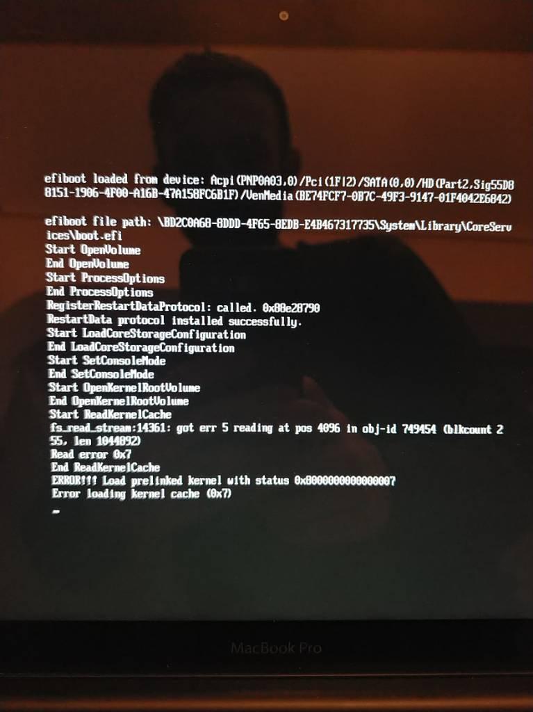 Πρόβλημα με boot σε Mojave - Σελίδα 5 - Mac Corner