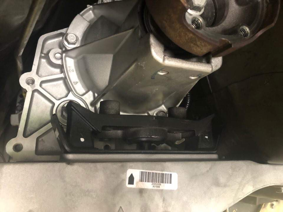 What trans coss member and mount for CTSV 6L90E? - Camaro5
