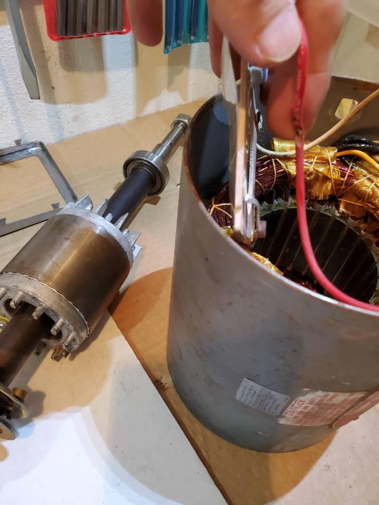 Super Dayton Grinder 1Z707S The Garage Journal Board Machost Co Dining Chair Design Ideas Machostcouk