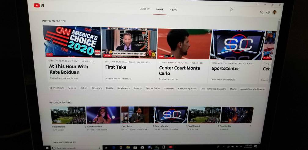 Youtube Tv App On Your Pc Windows Central Forums