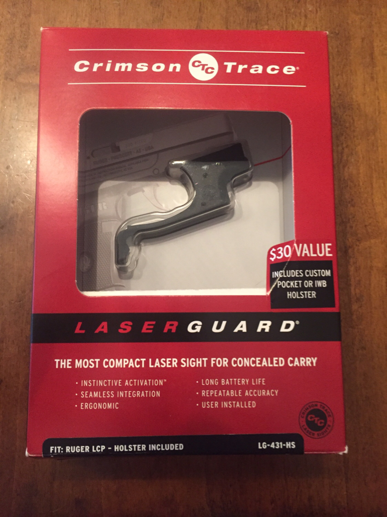 WTS - Ruger LCP Crimson Trace Laser Guard | Rokslide Forum