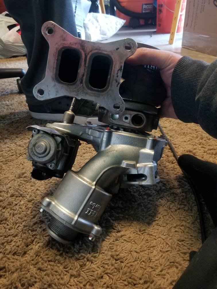 is38 hybrid TTE470 turbo mk7 gti MQB - VWVortex com