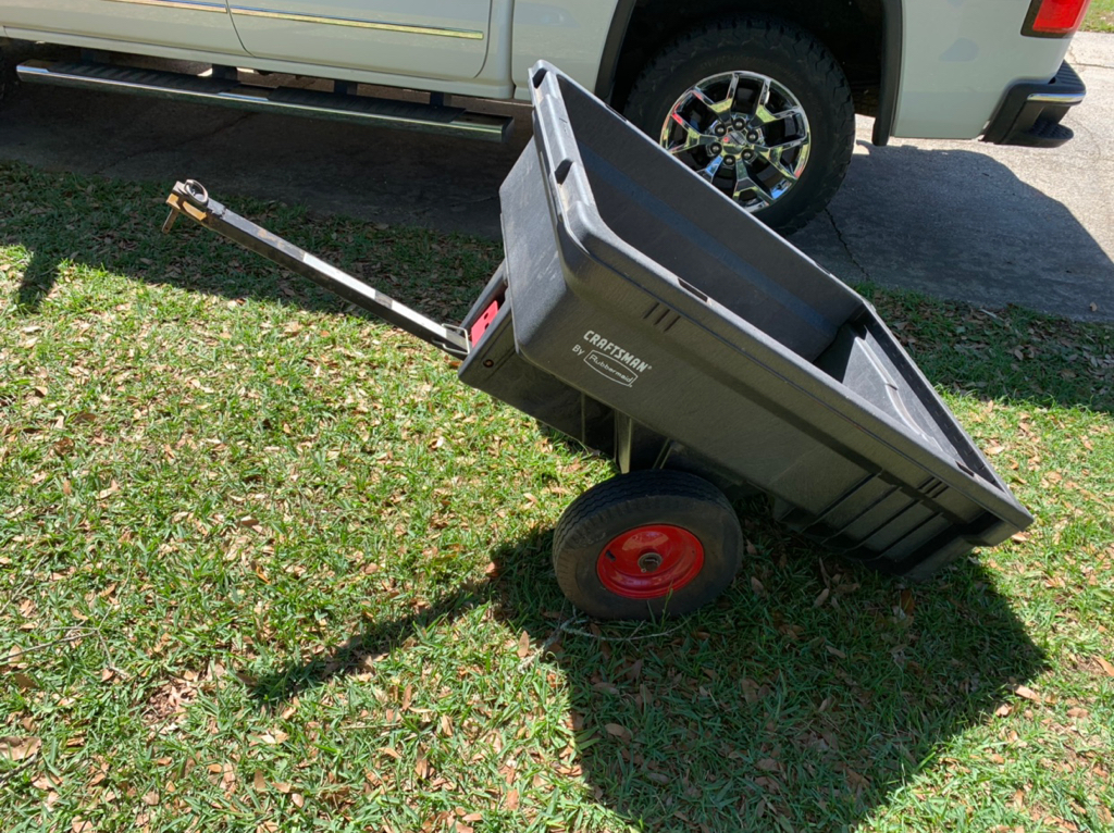 Rubbermaid Yard Cart Dump Trailer Pensacola Fishing Forum