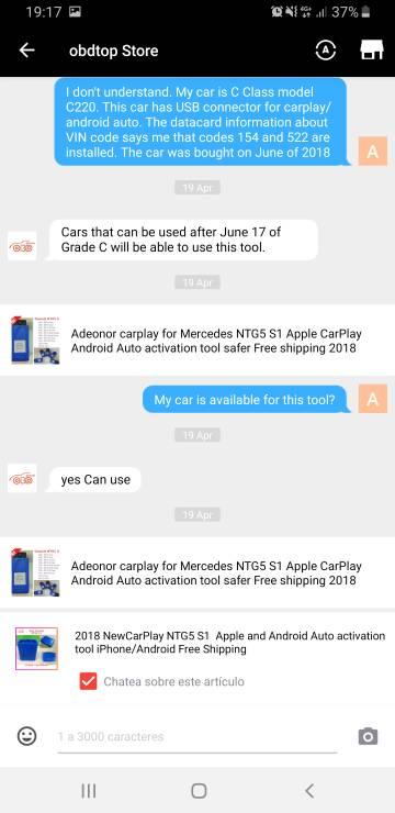 CarPlay de Apple en el nuevo W205 - Parte III - Pag 3