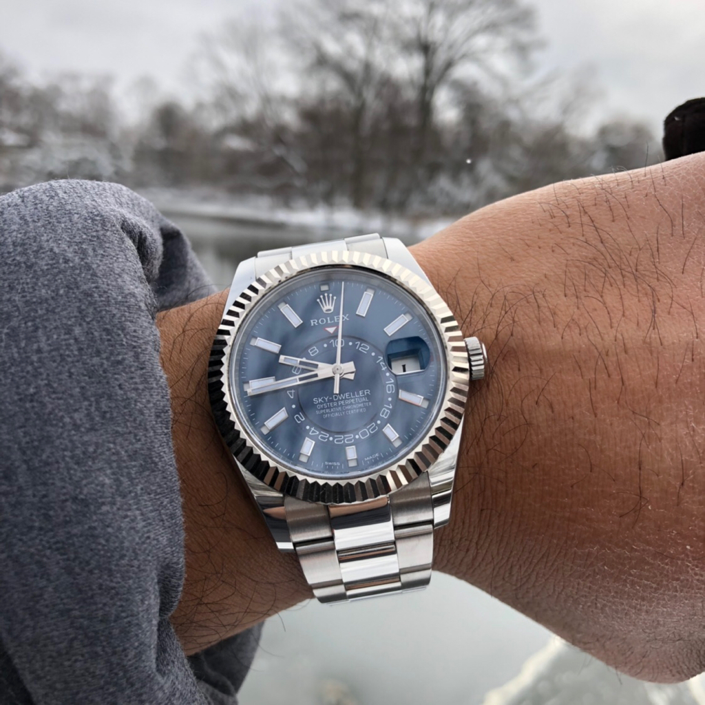 Sky Dweller Wearers , how big are your wrists? , Rolex