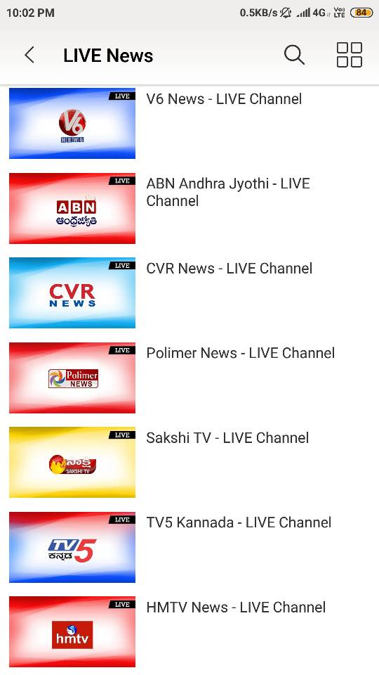 Breaking News - 29 news channels added on Sony LIV  | EntMnt