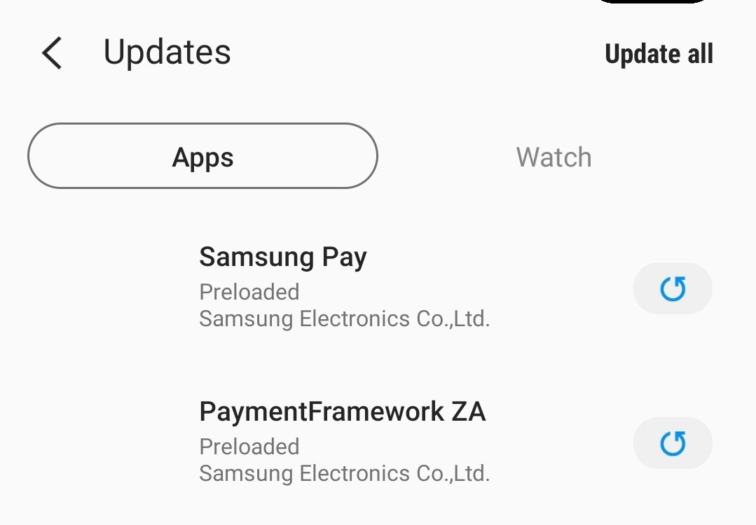 Samsung Pay Experience in South Africa | Page 9 | MyBroadband Forum