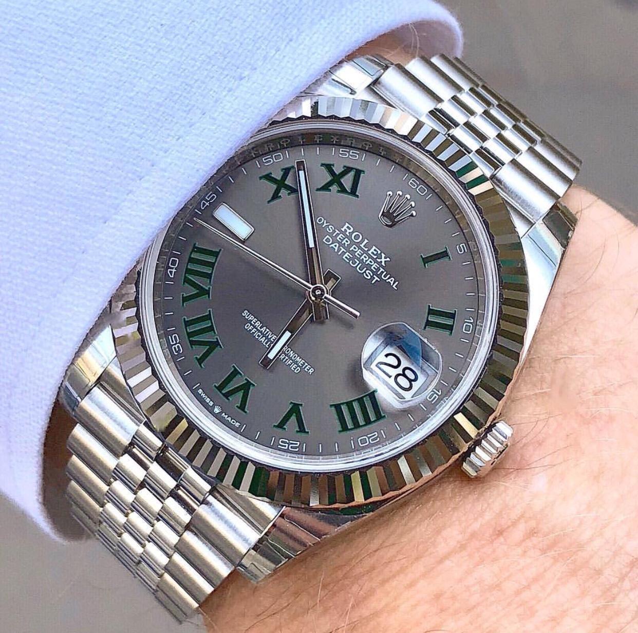 Who has a Wimbledon dial DJ 41? , Rolex Forums , Rolex Watch