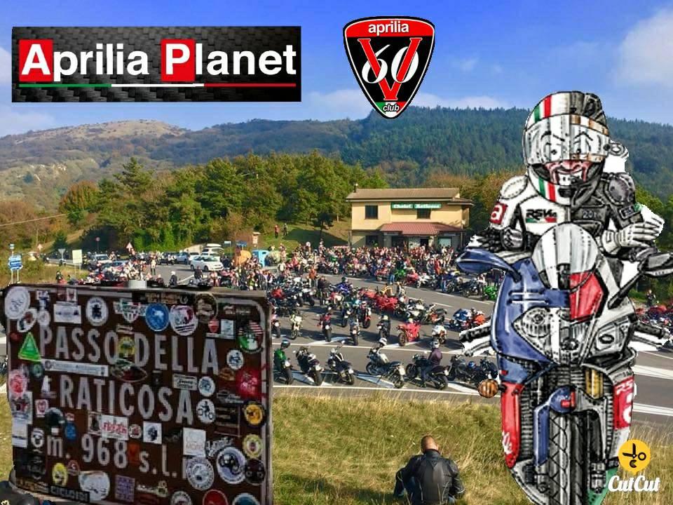 Moto Incontro ApriliaGarage & ApriliaPlanet