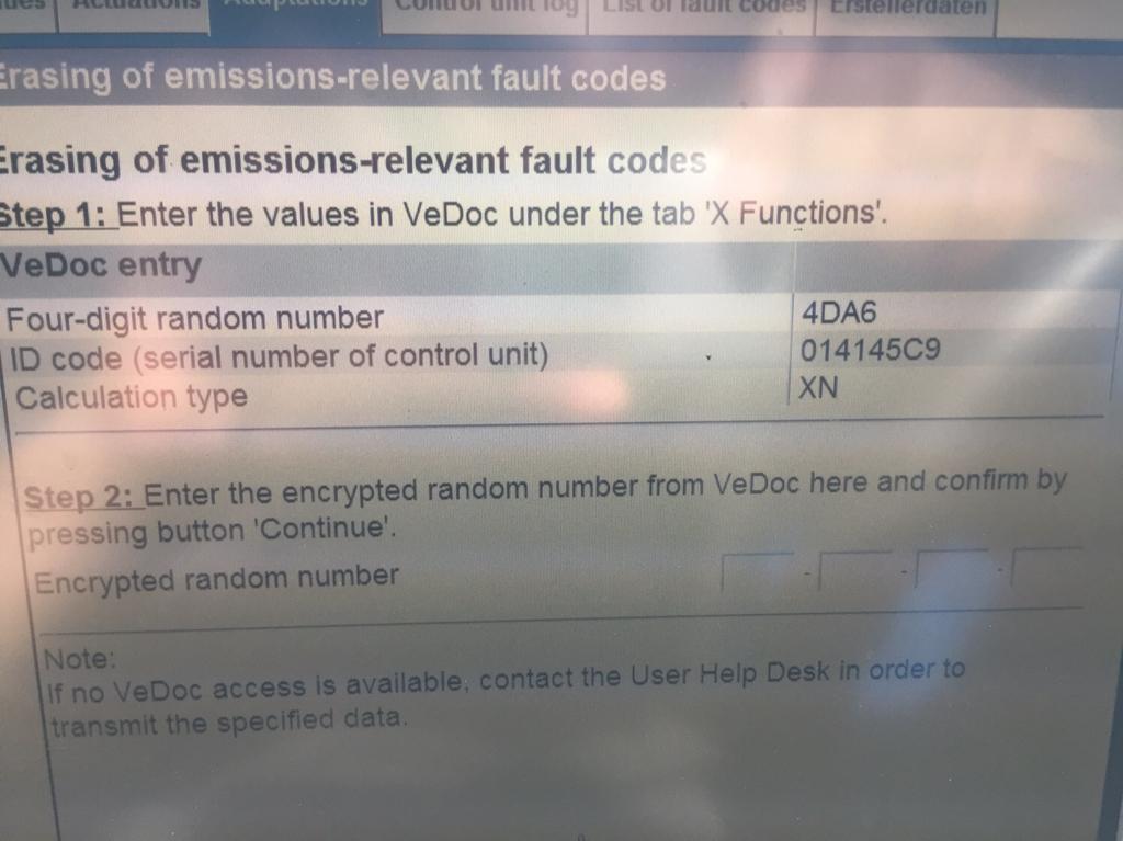 Mercedes Actros Fault Codes List