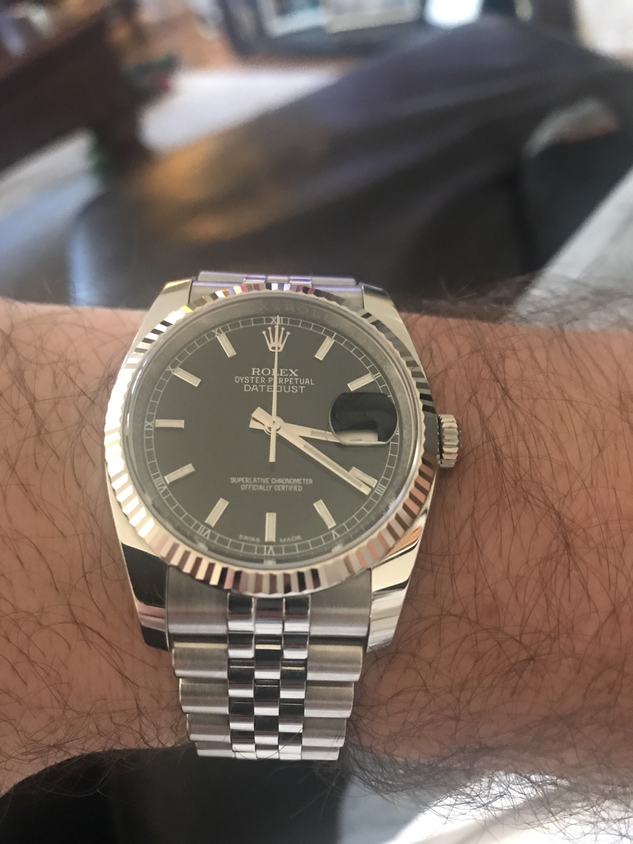 Leather Band for DJ - Rolex Forums - Rolex Watch Forum