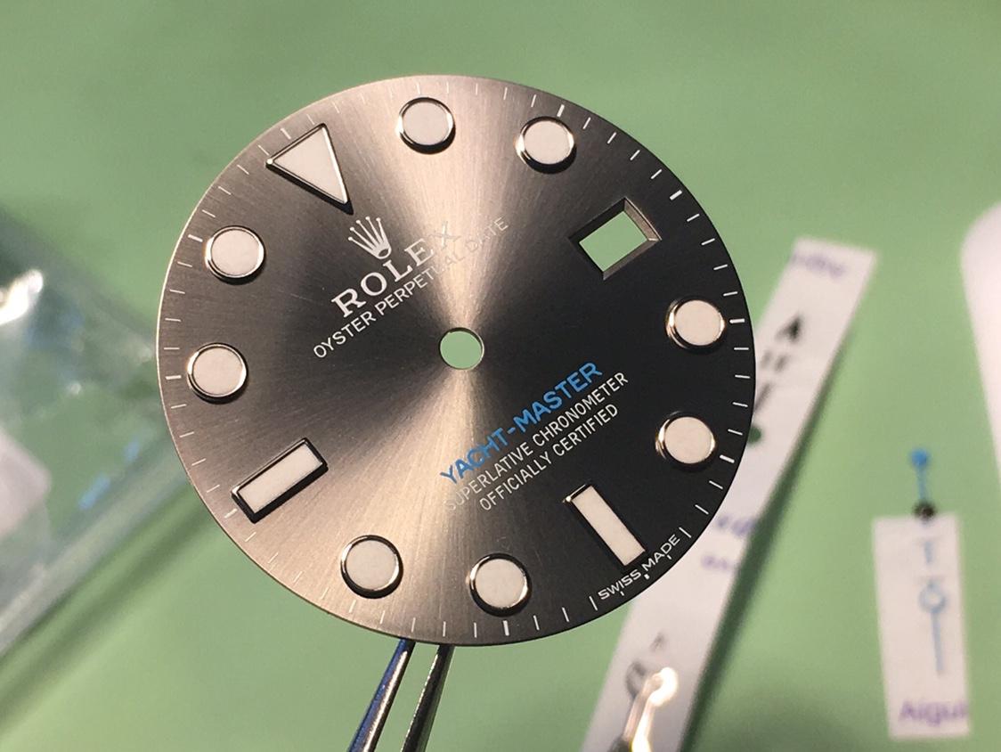 Yacht Master 116622 Rhodium Dial - Ρολόγια Replica