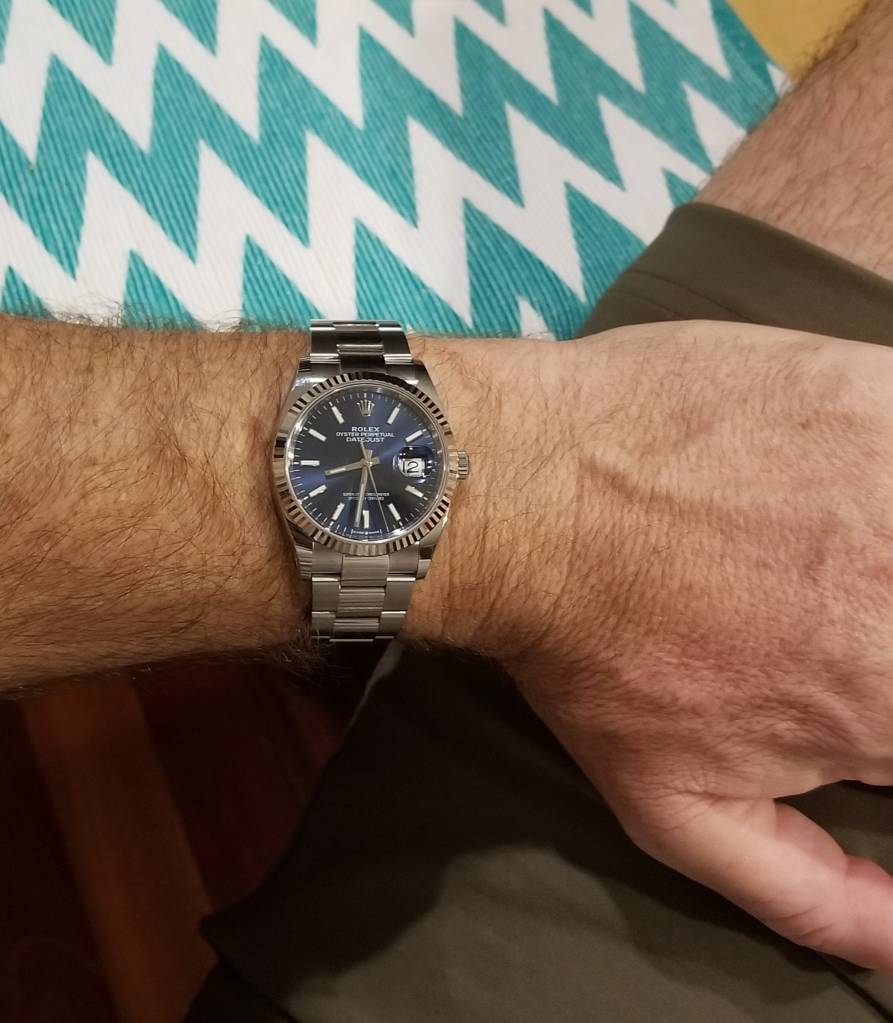 Pulled the trigger   DJ 36 2019 - Rolex Forums - Rolex Watch