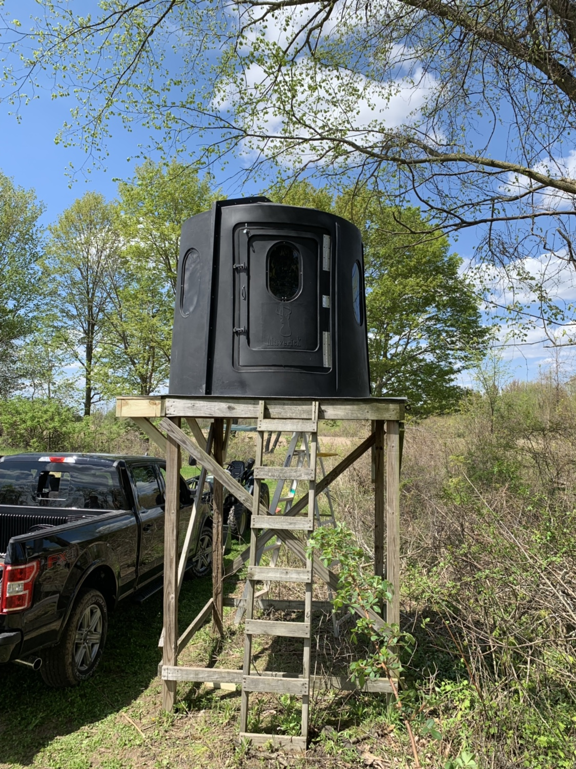 Enclosed Bow Blind Page 2 Michigan Sportsman Online