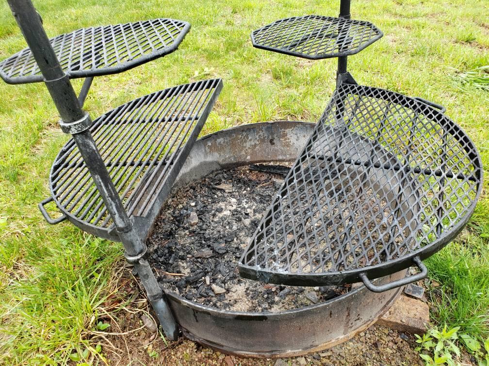 Fire Pit Outdoor Cooking Grate Ideas Deer Hunter Forum