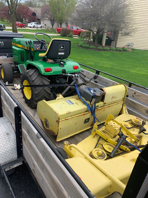 New To Me John Deere 400 I Have Some Questions Green Tractor Talk