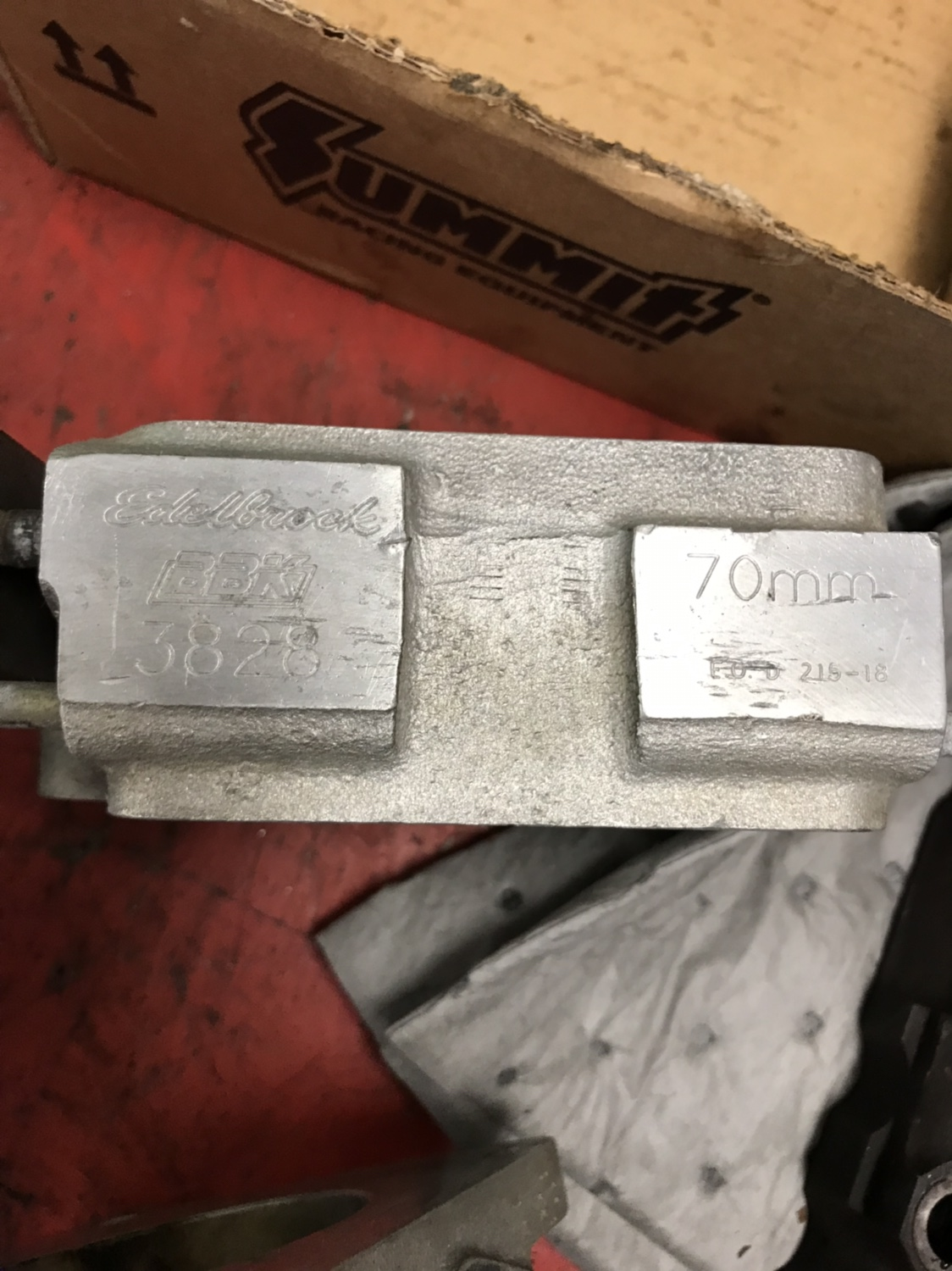 For Sale BBK 70mm throttle body and spacer - Ford Mustang