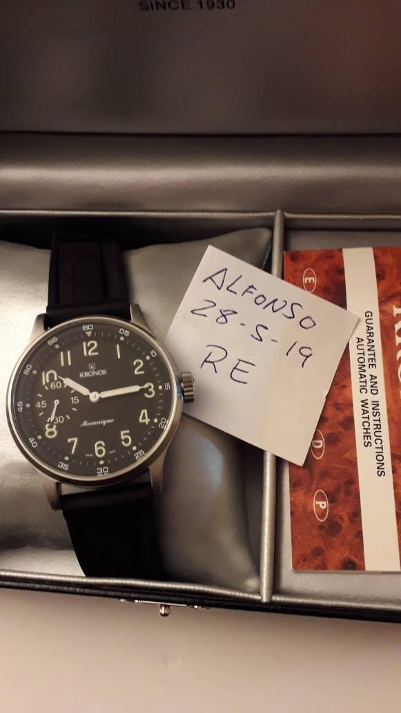 Pilot Vendo Compraventa Unitas Relojes Fcvr De 200 Hasta € Kronos Foro Qrdtsh