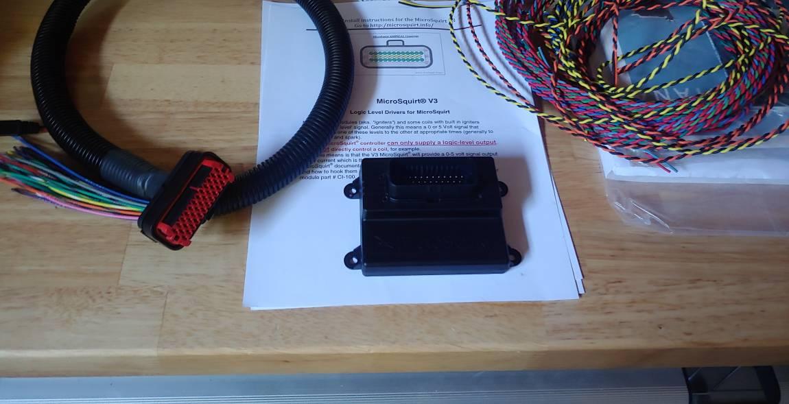 VWVortex com - CIS-E to Microsquirt time! Mk2 8v