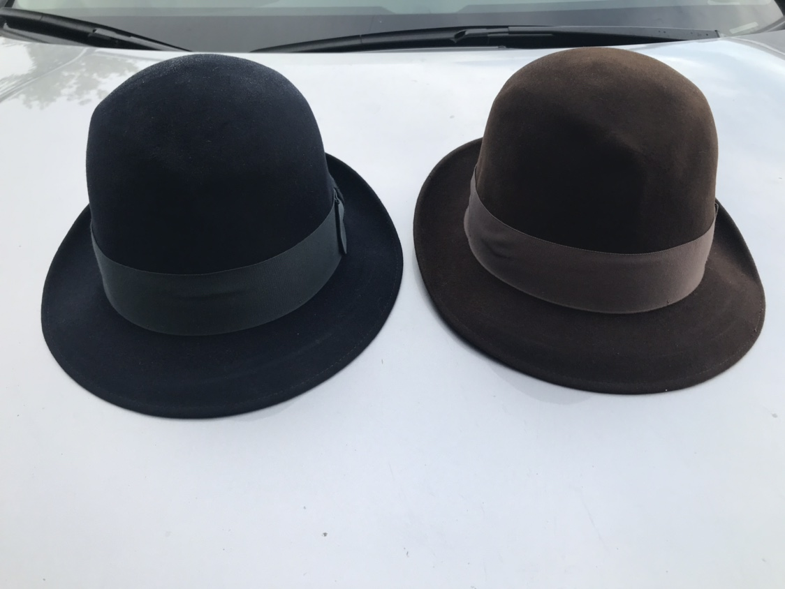 20d2126928d9 Two Dobbs Jet 707 size 7 1/4 stingy brims | The Fedora Lounge