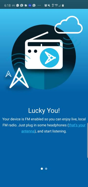 Next Radio not picking up my local stations? - Android Forums at