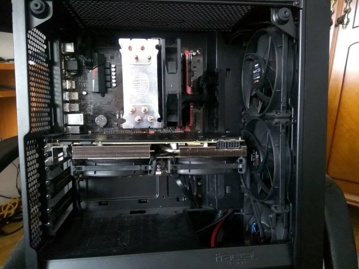 Duda sistema de refrigeración de mi nuevo PC