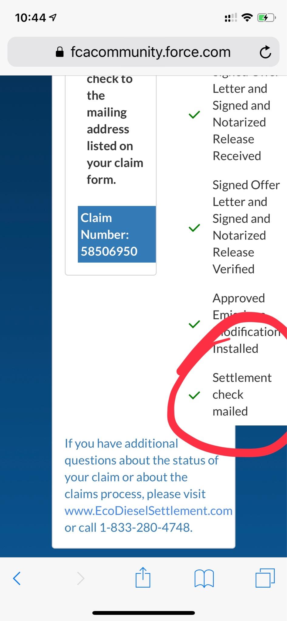 BREAKING** FCA 3 0L Diesel Settlement - Page 92