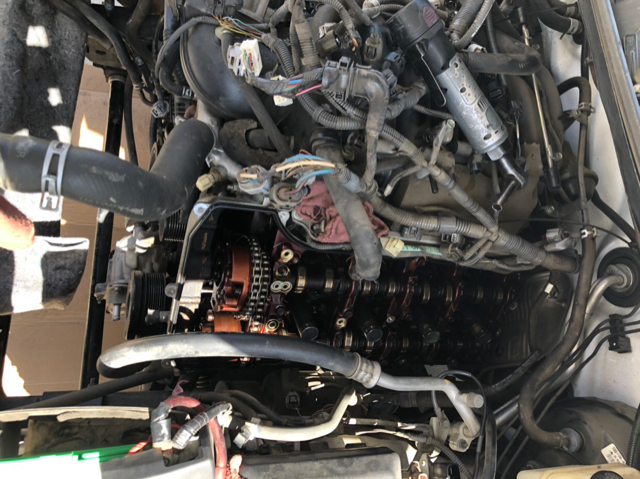 2008 5 7 timing chain tensioner replacement - tundratalk net