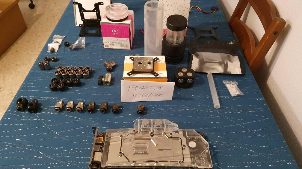 [VENDO] bomba ekwb revo d5 + componentes