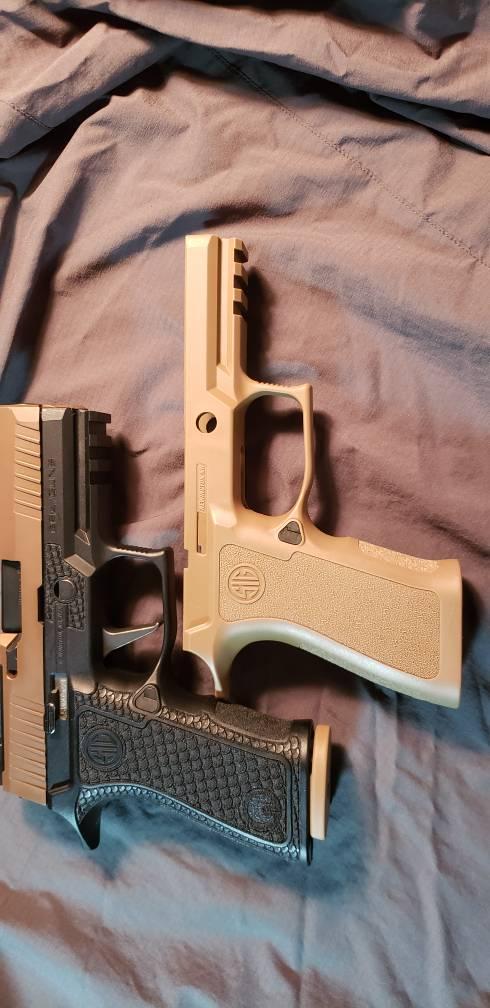 P320 X-Compact grip module review    I'm a bit underwhelmed