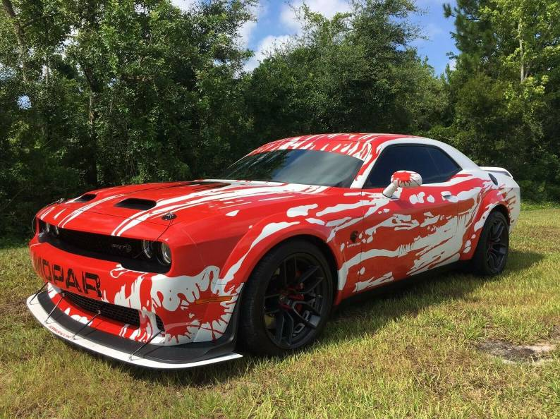 Charger Srt Hellcat >> Hellcat Blood Splatter | SRT Hellcat Forum