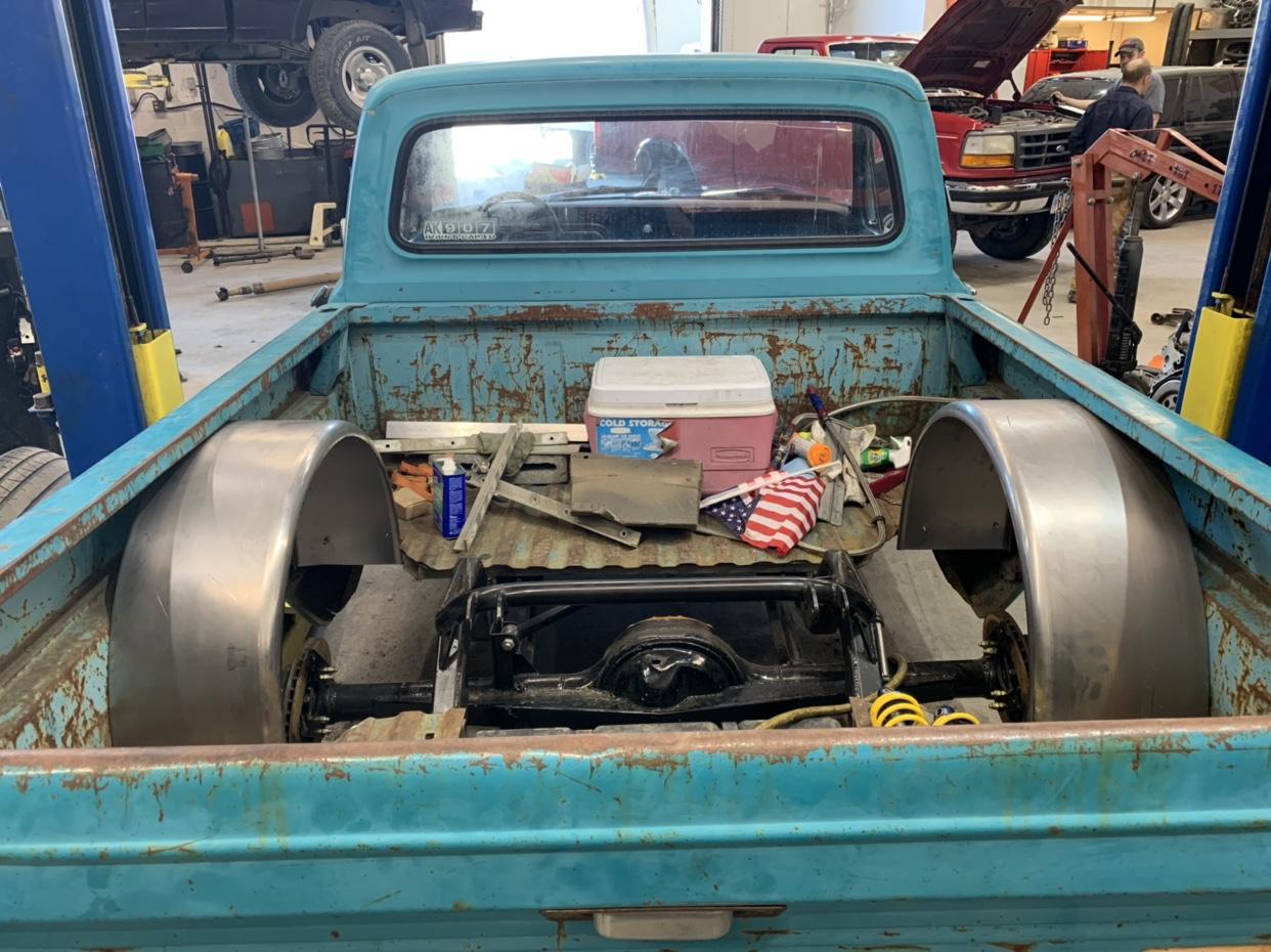 """Twin Turbo F100 """"pork chop"""" - 460 Ford Forum"""