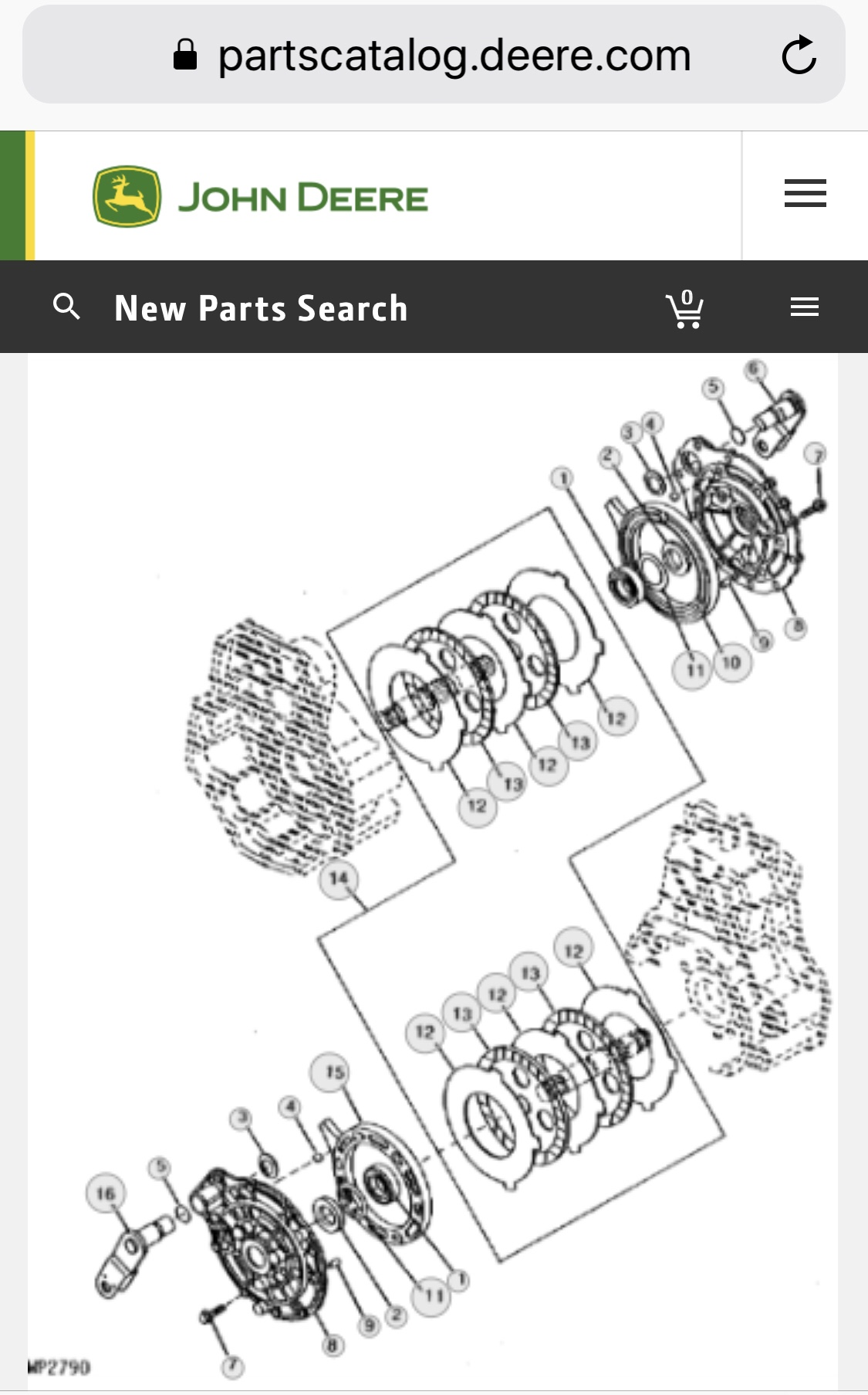 35 John Deere Gator 6x4 Parts Diagram