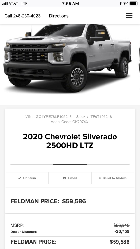 2020 Chevy HD - Page 56 - Chevy and GMC Duramax Diesel Forum