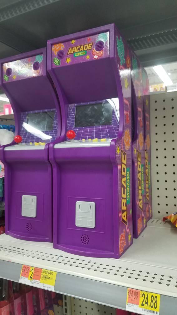 NEW Walmart toy arcade