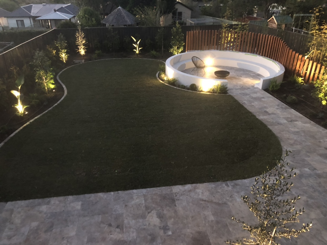 View: Custom Coral Homes Bronte..Landscaping is on!
