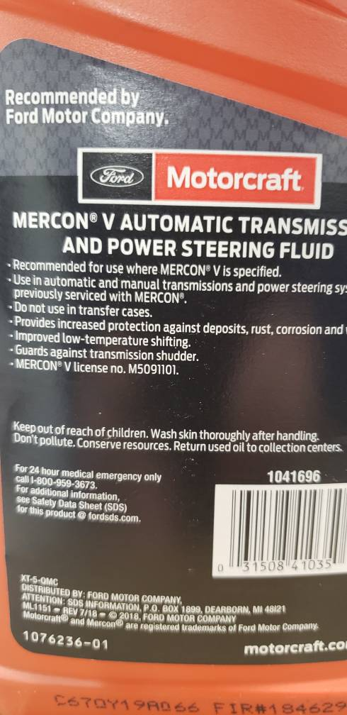 transfer case oil  xl-12??? - Page 3 - Ford Powerstroke