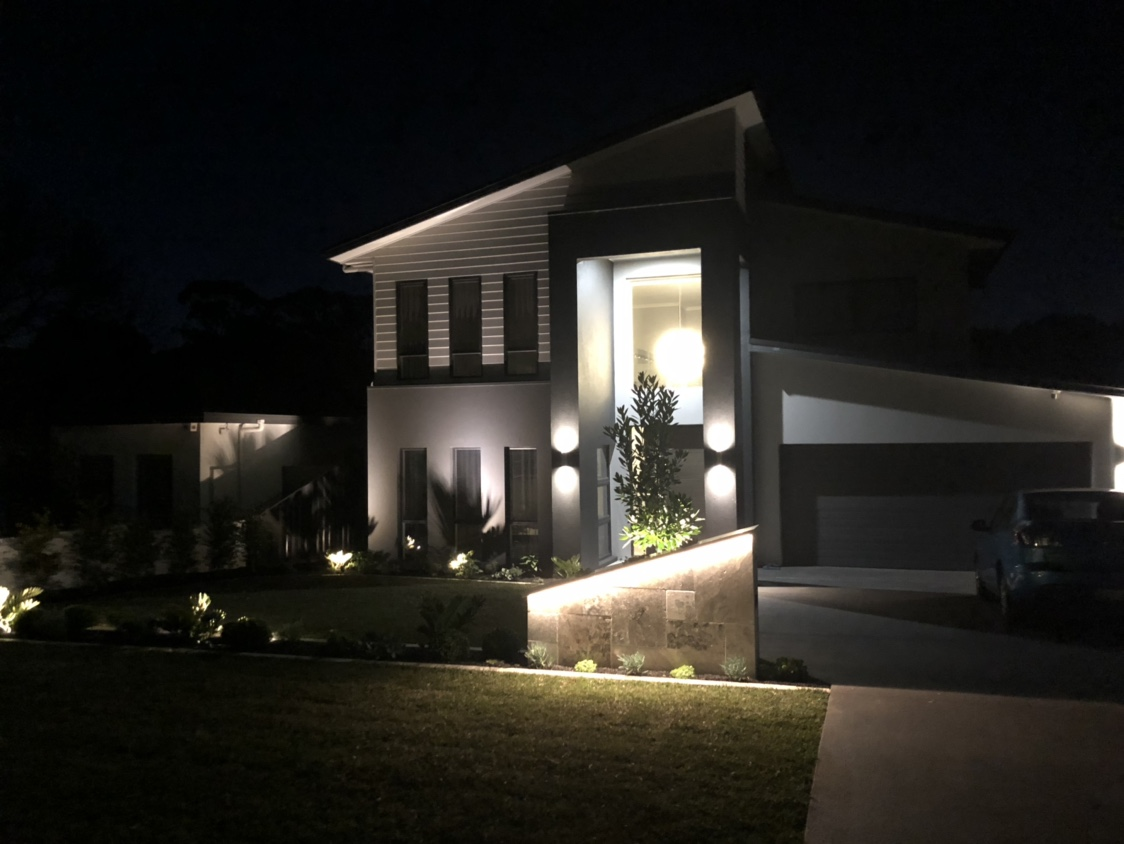Custom Coral Homes Bronte..Landscaping is on!