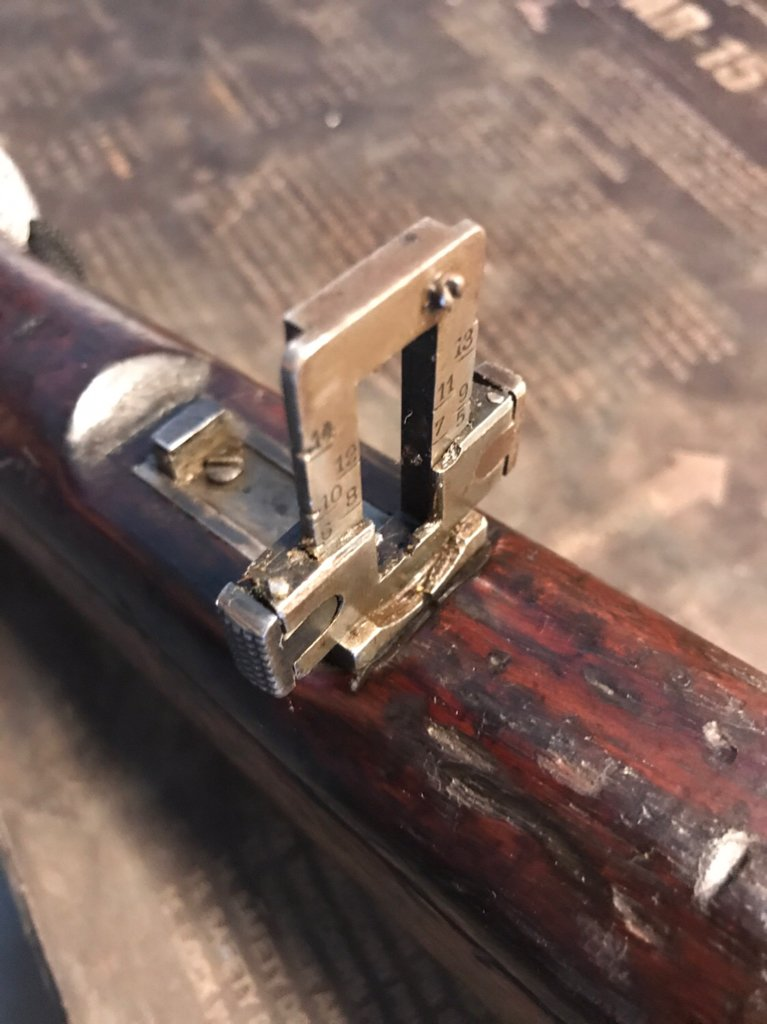 Chilean Mauser rear sight | Carolina Shooters Club