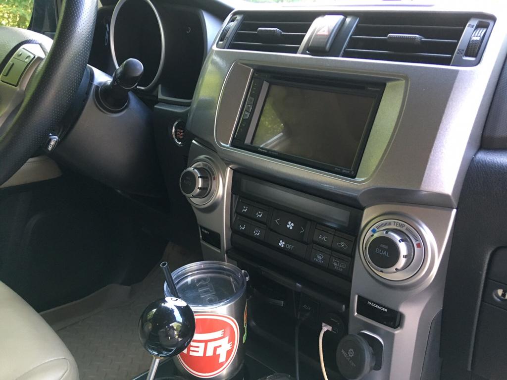 Pioneer NEX install in '12 Limited - Toyota 4Runner Forum