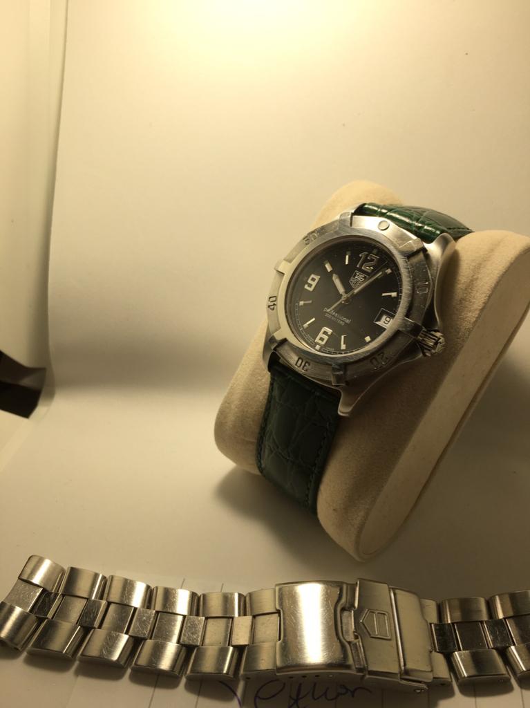 [Ολοκληρώθηκε] Tag Heuer Prof Quartz - Αγγελίες για μεταχειρισμένα ρολόγια