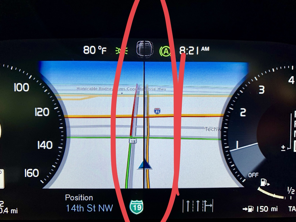 Digital Dash / Instrument Cluster Display Issue