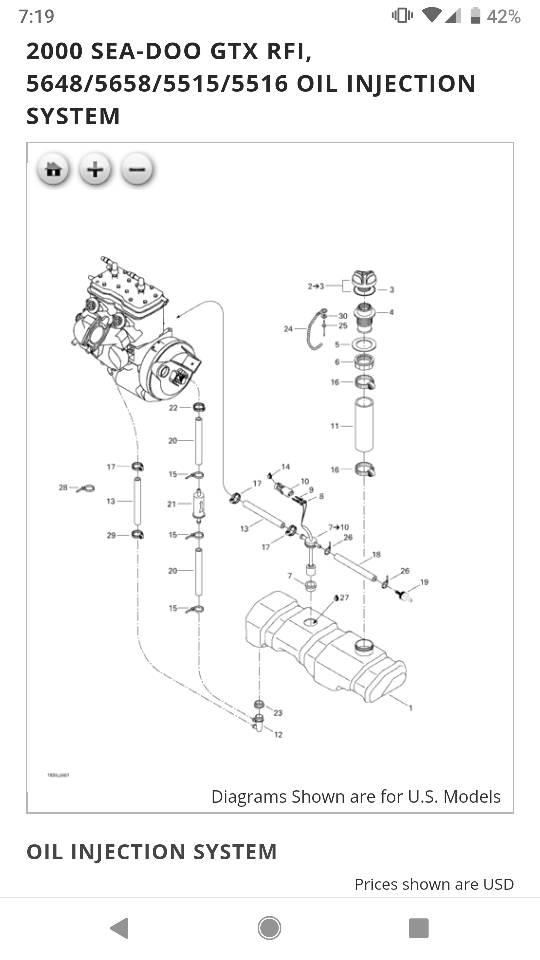 2000 Seadoo Gtx Maintenance Light