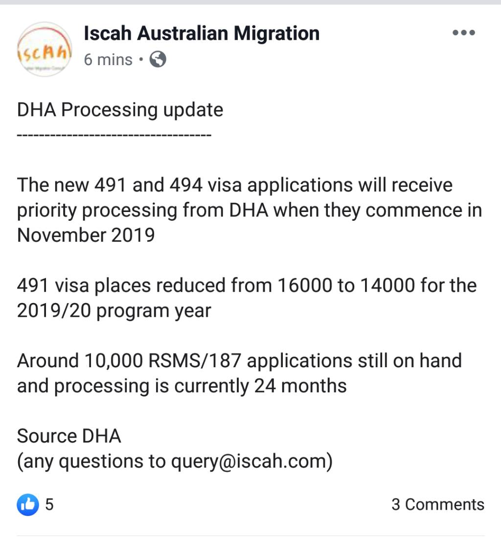 887 Visa - What's the update? - Page 1443 - Visa's and Migration